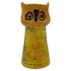 Bitossi Ceramic Owl by Aldo Londi