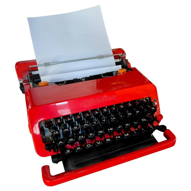 Sottsass for Olivetti Valentine Typewriter For Sale