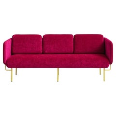 Pink Alce Sofa, Small by Chris Hardy