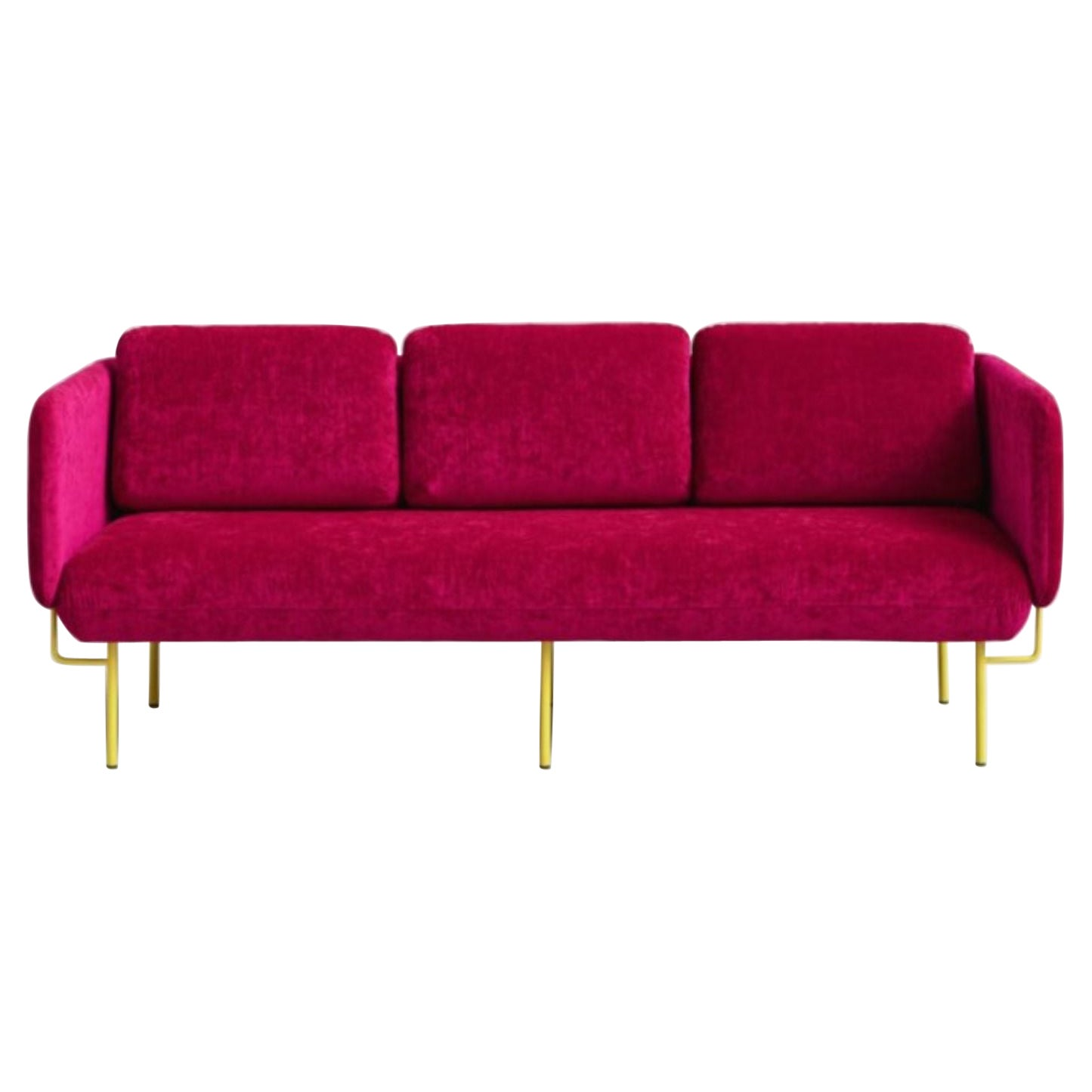 Pink Alce Sofa, Large by Chris Hardy