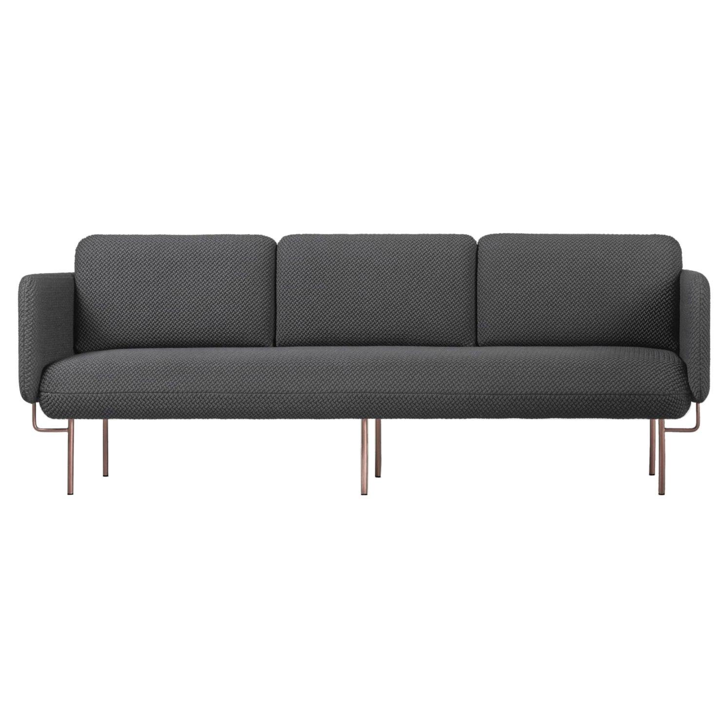 Gray Alce Sofa, Maxi by Chris Hardy