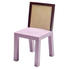 Postmodern Ettore Sottsass Pink Dining Chair for Leitner