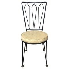 Salterini / Woodard Wrought Iron Dining Chairs /Modernist Antarenni Industries
