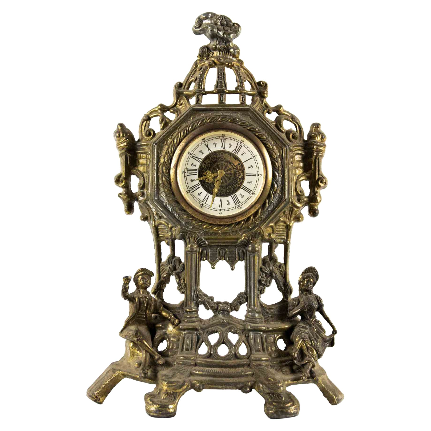 Vintage Table Clock, Early 20th Century