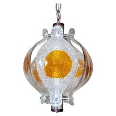Murano Glass Chandelier by Mazzega Murano, Italy, 1970s