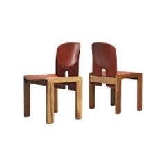 """Pair of Scarpa & Tobia Chairs Model """"121"""""""