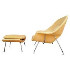 Eero Saarinen Womb Chair & Ottoman Knoll Inc