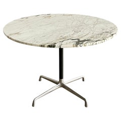 Herman Miller Eames Calcatta Marble Dining Table