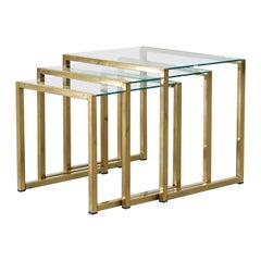 Maison Jansen Style Nesting Tables