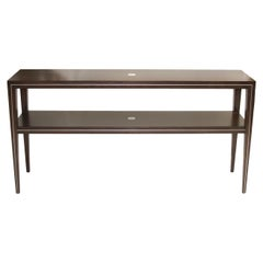 Walnut Server with Brass or Stainless Steel Inlays