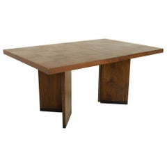 Paul Evans Style Lane Brutalist Mid Century Patchwork Dining Table