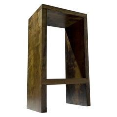 High Stool, Brazilian Wood, Contemporary Design by Rodrigo Silveira