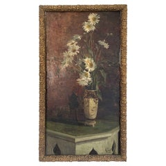 """Jacob Alexandre """"Bouquet of Flowers and Perfume Burner"""" Panel"""