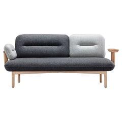 Gray Cosmo Sofa by La Selva