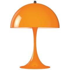 Verner Panton Panthella Mini LED Table Lamp in Orange for Louis Poulsen