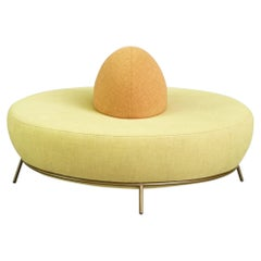 Nest Round Sofa with Backrest by Paula Rosales