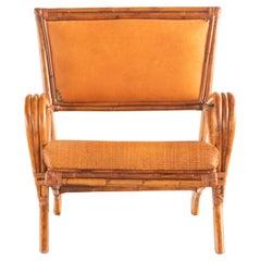 Rattan Split Chair Wood Confortable Modern Asian Modern Kalma Furniture