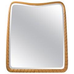 Carved Wood Mirror by Giovanni Gariboldi, circa 1940
