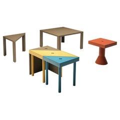 Massimo Morozzi for Cassina Modular 'Tangram' Dining Table