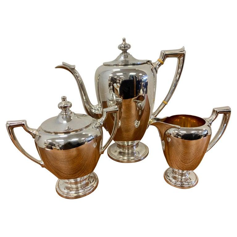 Reed & Barton Sterling Silver Tea Set