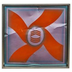 1969 Billy Al Bengston Aluminum Artwork