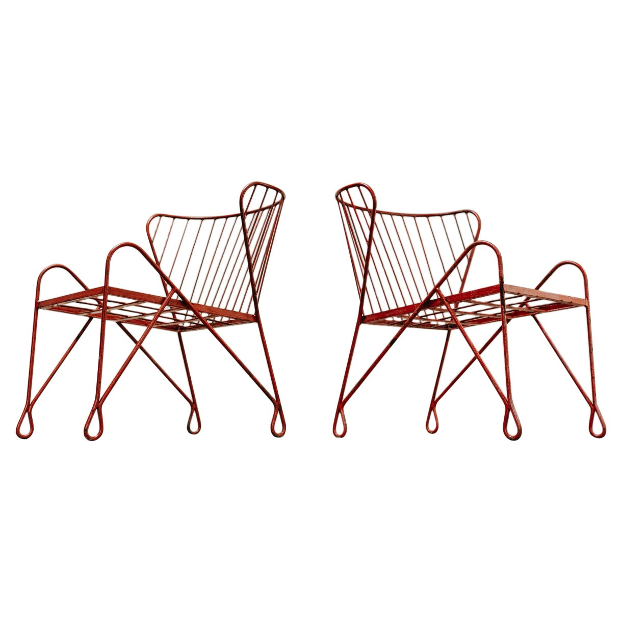 Pair of 1970s Garden Chairs ..