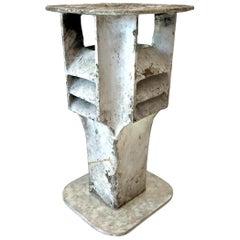 Willy Guhl Concrete Lamp