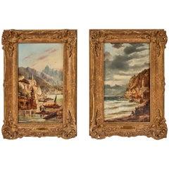 1880's, Italian Oil Paintings