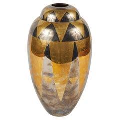 Period Mirrored Vase