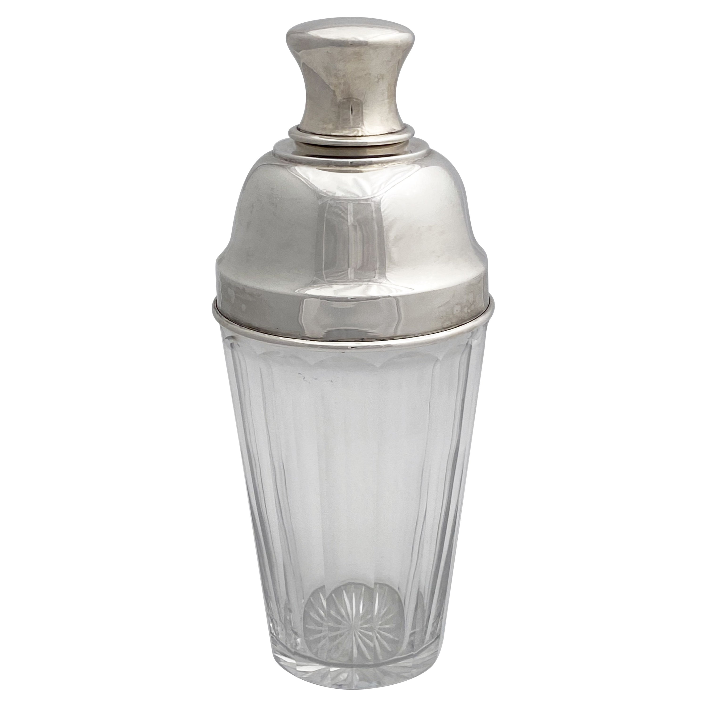 Art Deco Martini or Cocktail Shaker from England