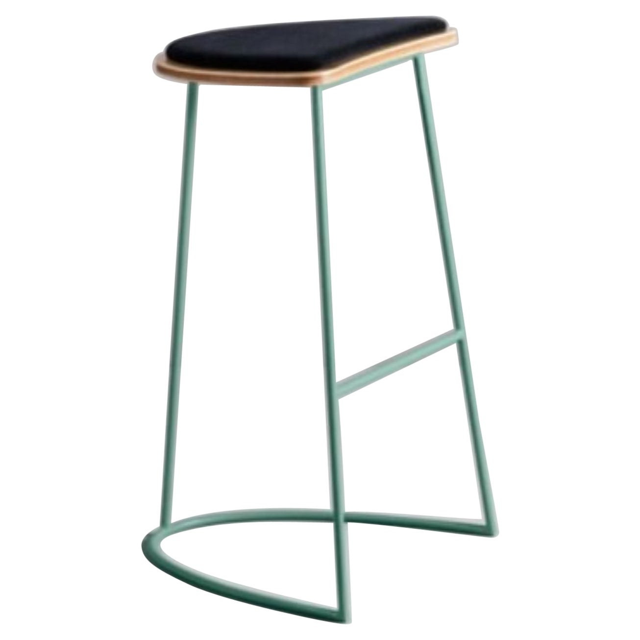 Boomerang Stool without Backrest by Cardeoli