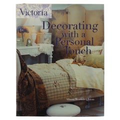 Victoria Decorating with a Personal Touch Decorating Hardcover Book