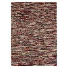 Varese Medium Wool Rug in Red by GAN