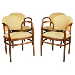 Set of Four Dining Chairs Designed by Antonín Šuman, 1960's