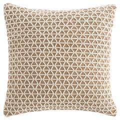 GAN Spaces Raw Small Pillow in White by Borja García