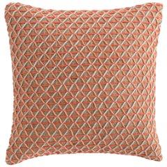 GAN Spaces Raw Small Pillow in Pink by Borja García