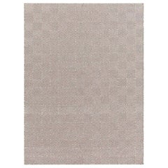 GAN Spaces Sail Small Rug in Taupe by Héctor Serrano