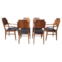 Set 6 Rosewood Dining Chairs, Paul McCobb, Delineator