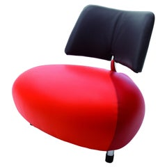 Pallone Chair by Leolux upholstered in Leather