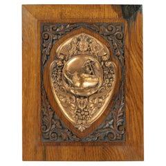 H.M.S. Foudroyant Copper Shield