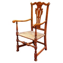 Chippendale Great Chair with Spanish Feet, circa 1760