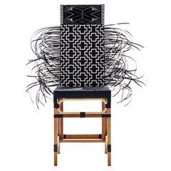 Rojjarnar, 'Corner pattern', Vernacular Dining Chair