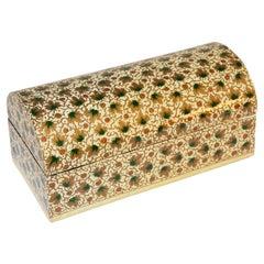 Hand Painted Rajasthani Moorish Lacquer Box