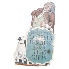 English Tea Shop Sign