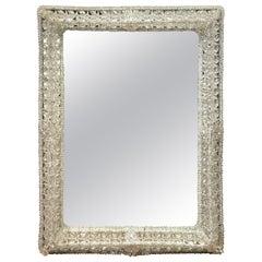 Exquisite Venetian Beaded Crystal Mirror