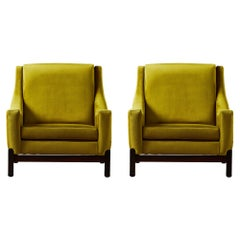 Pair of Vintage Armchairs by Saporiti, 1960
