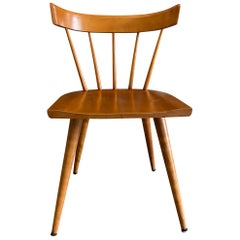Midcentury Paul McCobb Planner Group Dining Chairs Maple Spindle Back Chairs