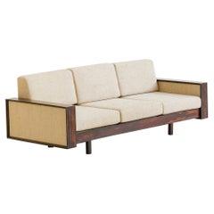 Brazilian Rosewood Sofa by Celina Decorações, Midcentury Brazilian Design, 1960s