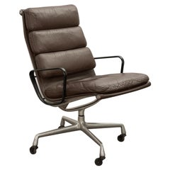 Eames Soft Pad Executive Leather Office Chair