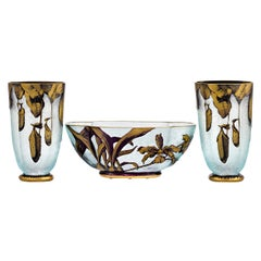 Nepenthes Garniture Set by Baccarat